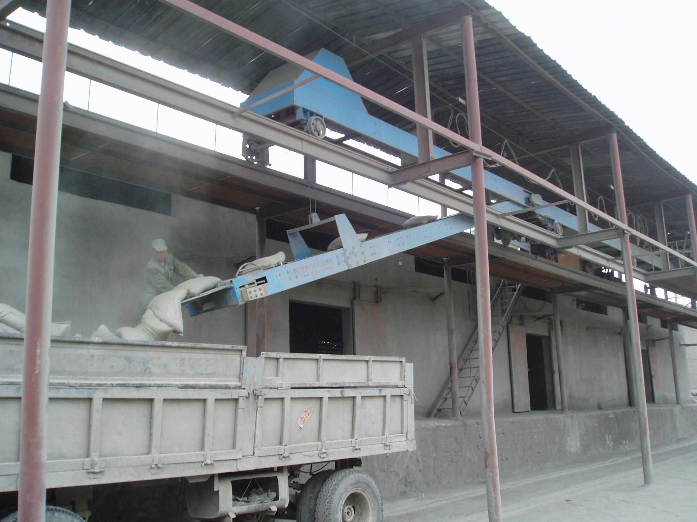 高台袋装水泥装车机