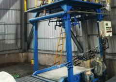 煤粉吨包机使用现场