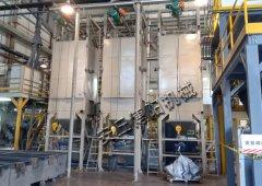 树脂颗粒和粉末吨袋拆包机使用现场