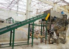 工业硫磺自动破袋机使用现场
