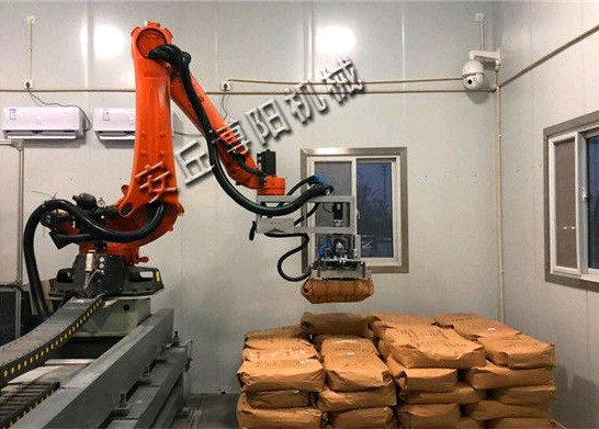 视觉拆垛拆包机器人