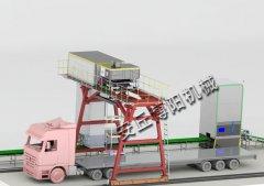 高速拆垛装车机生产线