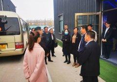 热烈欢迎新安街道及柘山镇相关领导来博阳机械观摩