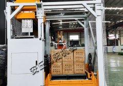 纸箱自动化拆垛机 自动卸垛机现场
