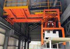袋料自动装车机 玉米纤维自动化装车设备现场