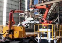 袋料装车机器人 自动化装车机现场
